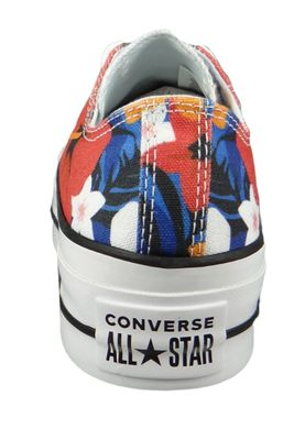 Converse Chucks Plateau 563976C Chuck Taylor All Star Lift - OX Totally Blue White Black – Bild 5