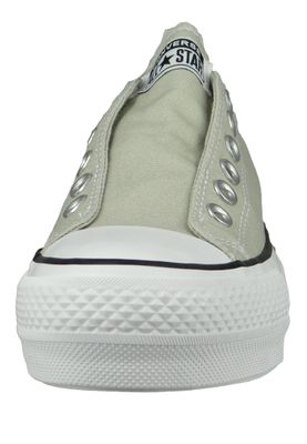 Converse Chucks Plateau 564340C Chuck Taylor All Star Lift - SLIP Light Surplus White Black – Bild 5