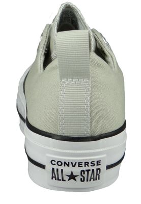 Converse Chucks Plateau 564340C Chuck Taylor All Star Lift - SLIP Light Surplus White Black – Bild 3