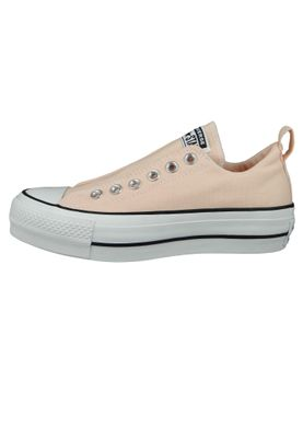 Converse Chucks Plateau Rosa 564341C Chuck Taylor All Star Lift - SLIP Washed Coral White Black – Bild 2
