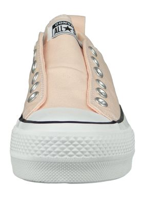 Converse Chucks Plateau Rosa 564341C Chuck Taylor All Star Lift - SLIP Washed Coral White Black – Bild 5