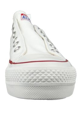 Converse Chucks Plateau Weiss 563457C Chuck Taylor All Star Lift - SLIP White Red Blue – Bild 3