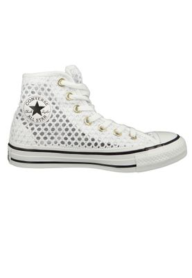 Converse Chucks Weiss 564870C Chuck Taylor All Star - HI White Black White – Bild 5