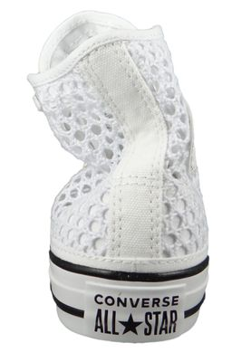 Converse Chucks Weiss 564870C Chuck Taylor All Star - HI White Black White – Bild 6