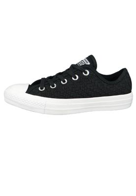 Converse Chucks Schwarz 564355C Chuck Taylor All Star - OX Black Egret White – Bild 2