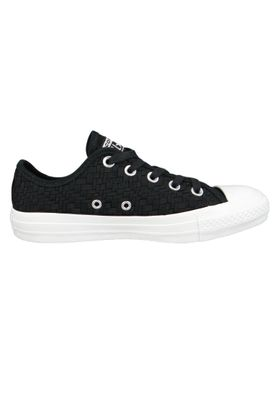 Converse Chucks Schwarz 564355C Chuck Taylor All Star - OX Black Egret White – Bild 4