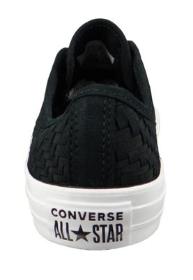 Converse Chucks Schwarz 564355C Chuck Taylor All Star - OX Black Egret White – Bild 5