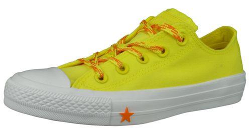Converse Chucks Yellow 564116C Chuck Taylor All Star - OX Fresh Yellow Orange Ox White – Bild 1