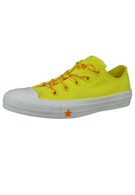 Converse Chucks Gelb 564116C Chuck Taylor All Star - OX Fresh Yellow Orange Rind White – Bild 1