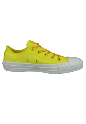 Converse Chucks Gelb 564116C Chuck Taylor All Star - OX Fresh Yellow Orange Rind White – Bild 4
