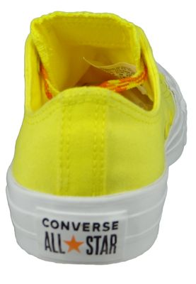 Converse Chucks Gelb 564116C Chuck Taylor All Star - OX Fresh Yellow Orange Rind White – Bild 3