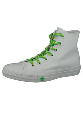 Converse Chucks Weiss 564123C Chuck Taylor All Star - HI White Acid Green Fresh Yellow – Bild 1