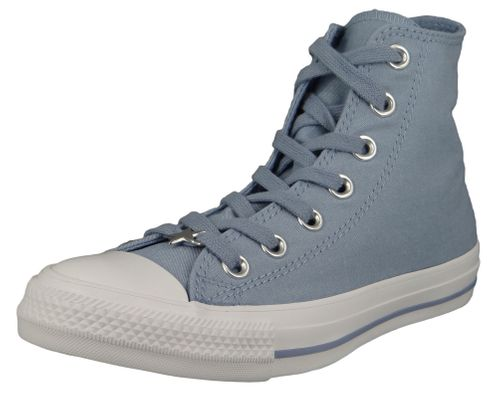 Converse Chucks Purple 564420C Chuck Taylor All Star - HI Indigo Fog White White – Bild 1