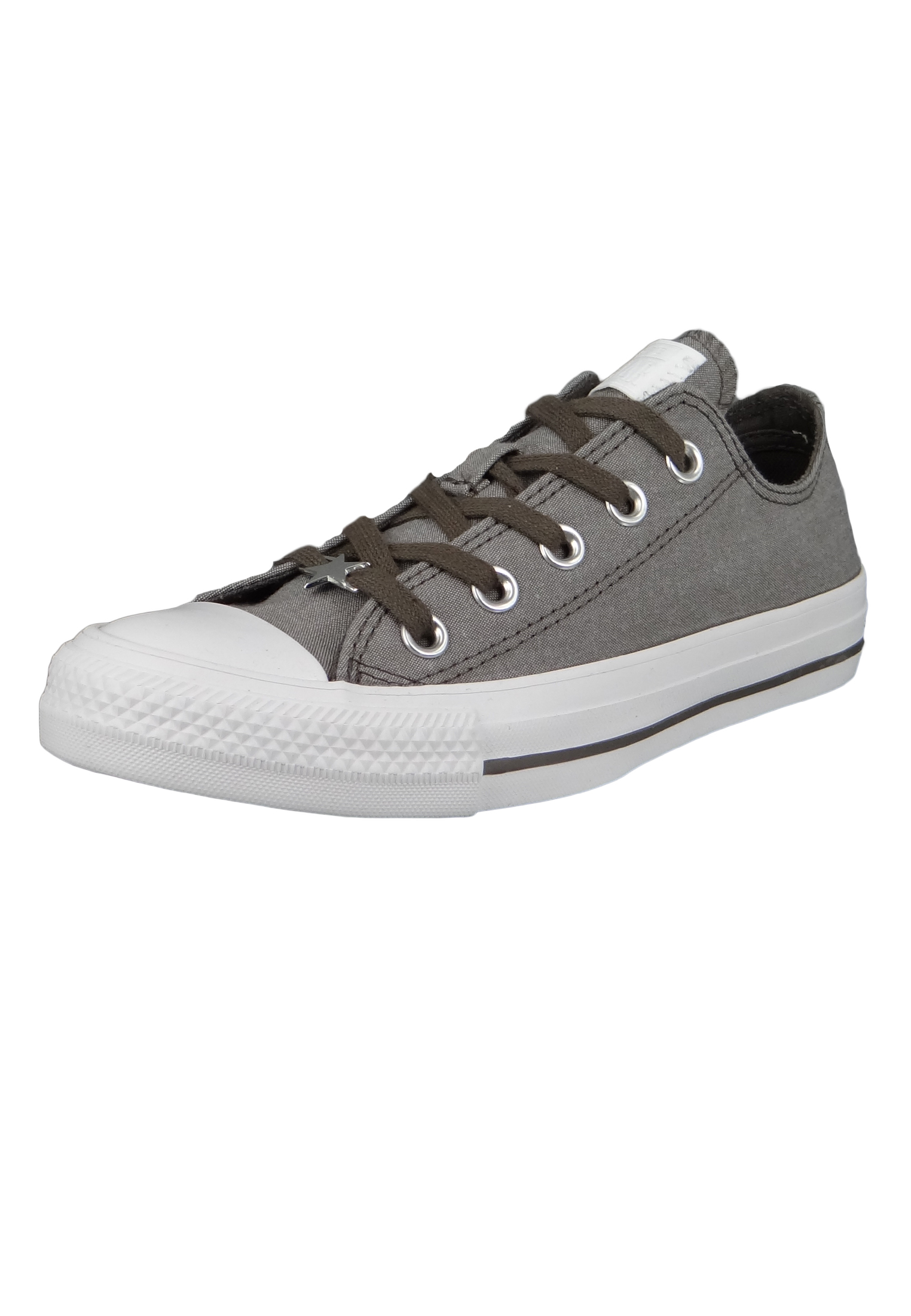 huge selection of 98ecf 5fca5 Converse Chucks Grau 564422C Chuck Taylor All Star - OX Ridgerock White