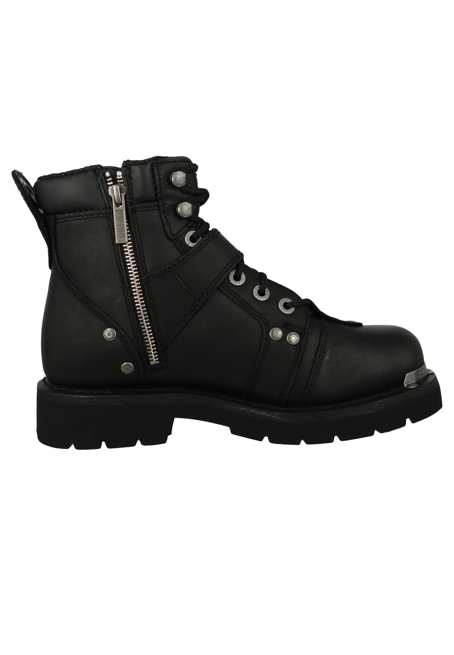 harley davidson biker boots d91684 brake buckle. Black Bedroom Furniture Sets. Home Design Ideas