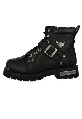 Harley Davidson Biker Boots D91684 Brake Buckle Engineerstiefel Schwarz Black – Bild 2
