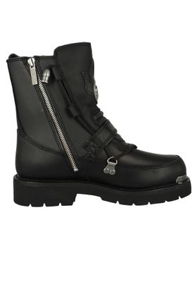Harley Davidson Biker Boots D94167  Distortion Engineerstiefel Schwarz Black – Bild 4