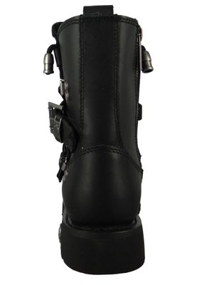 Harley Davidson D94167 Distortion Herren Biker Boots Engineerstiefel Black Schwarz – Bild 3