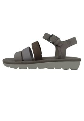 Timberland A1XVJ Lottie Lou 3-Band Sandal Women's Sandals Simply Taupe Beige Light Gray – Bild 4