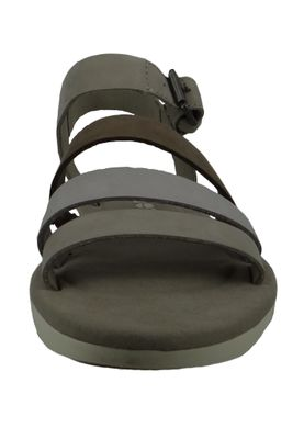 Timberland A1XVJ Lottie Lou 3-Band Sandal Women's Sandals Simply Taupe Beige Light Gray – Bild 5