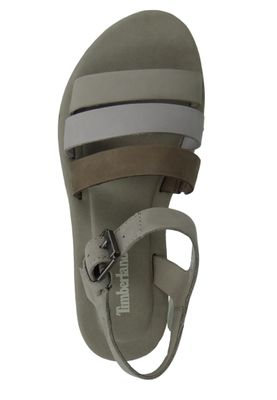 Timberland A1XVJ Lottie Lou 3-Band Sandal Women's Sandals Simply Taupe Beige Light Gray – Bild 8