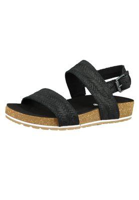 Timberland A1WZ4 Malibu Waves 2-Band Sandal Women's Sandals Jet Black Black – Bild 2