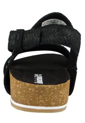 Timberland A1WZ4 Malibu Waves 2-Band Sandal Women's Sandals Jet Black Black – Bild 4