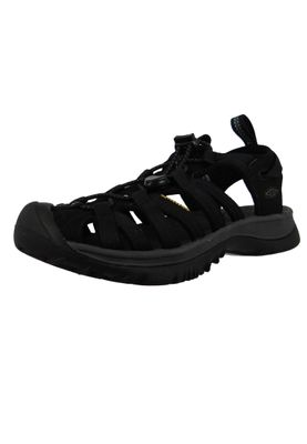 KEEN Ladies Sandal Whisper Black Magnet Black - 1018227