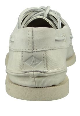 Sperry Men's Boat Shoes STS19368 A / O 2 Eye LINEN White White – Bild 3