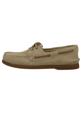 Sperry Men's Boat Shoes STS19437 A / O 2 Eye Suede Sand Brown Suede – Bild 2