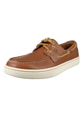Sperry Herren Bootsschuhe STS18791 CUP 2-Eye Leather Leder TAN Braun – Bild 1