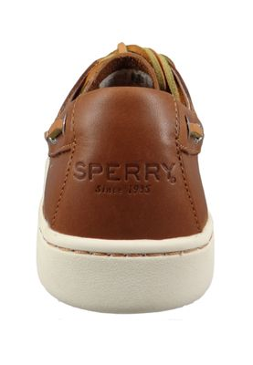 Sperry Herren Bootsschuhe STS18791 CUP 2-Eye Leather Leder TAN Braun – Bild 3
