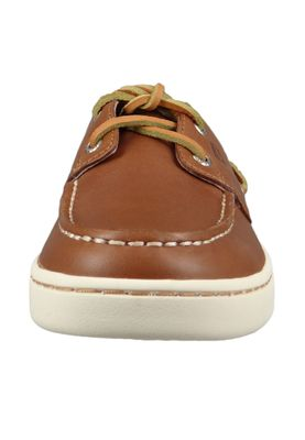 Sperry Herren Bootsschuhe STS18791 CUP 2-Eye Leather Leder TAN Braun – Bild 5