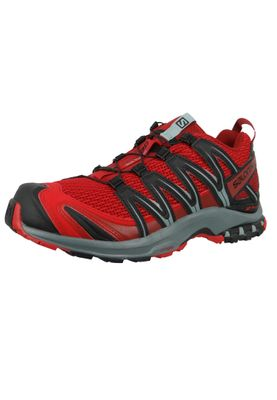 Salomon Herren Schuhe XA Pro 3D 406711 Weinrot Barbados Cherry Stormy Weather Black – Bild 1