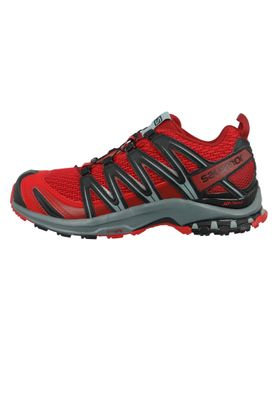 Salomon Herren Schuhe XA Pro 3D 406711 Weinrot Barbados Cherry Stormy Weather Black – Bild 2