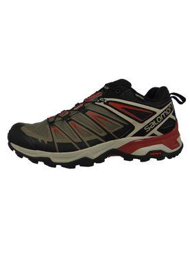 Salomon Herren Schuhe X Ultra 3 GTX Laufschuhe Trail Hiking Grau 406749 Bungee Cord Vintage – Bild 2