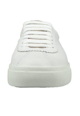 Superga Schuhe Damen Sneaker S00C4F0 2843 Comflealme Leder Weiss White Rose Platinum – Bild 5