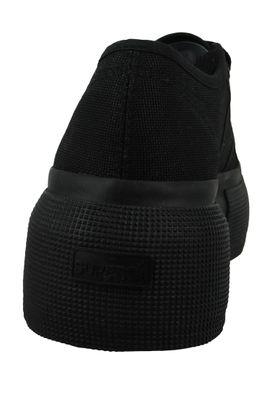 Superga Schuhe Damen Sneaker COTU Classic Schwarz 2287 997 Total Black – Bild 3