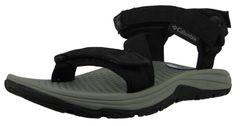 Columbia Men's Outdoor Trekking Sandals Big Water II BM1777-010 Black Monument 001