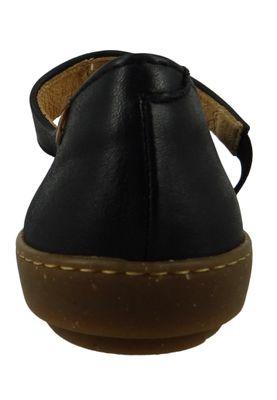 El Naturalista N5301 Coral Leather Dolce Damen Leder Spangenballerina Black Schwarz – Bild 3