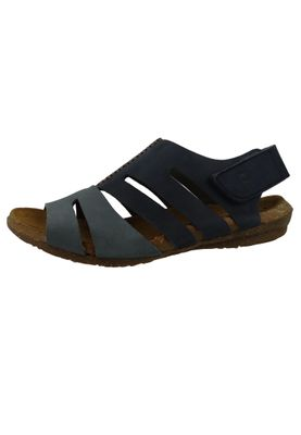 El Naturalista N5065 Wakataua Women's Leather Sandal Leather Pleasant Ocean Vaquero Blue – Bild 3
