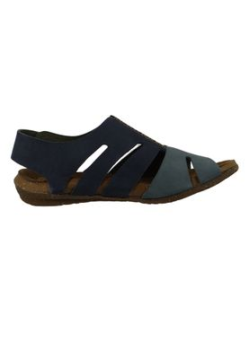 El Naturalista N5065 Wakataua Women's Leather Sandal Leather Pleasant Ocean Vaquero Blue – Bild 5