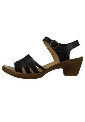 El Naturalista N5352 Aqua Damen Leder Sandale Sandalette Leather Vaquetilla Black Schwarz – Bild 2