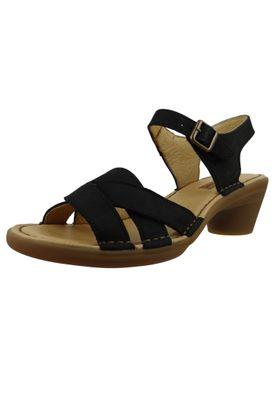 El Naturalista N5372 Aqua Damen Leder Sandale Sandalette Leather Pleasant Black Schwarz – Bild 1