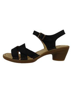 El Naturalista N5372 Aqua Damen Leder Sandale Sandalette Leather Pleasant Black Schwarz – Bild 2
