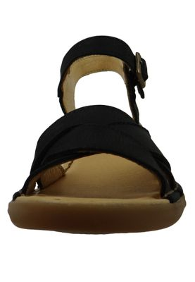 El Naturalista N5372 Aqua Women's Leather Sandal Sandal Leather Pleasant Black Black – Bild 6