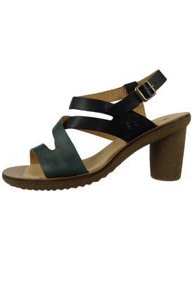 El Naturalista N5157 Trivia Women's Leather Sandal Sandal Leather Vaquetilla Fantasia Black F Black – Bild 3