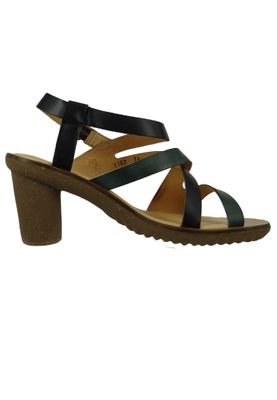 El Naturalista N5157 Trivia Damen Leder Sandale Sandalette Leather Vaquetilla Fantasia Black F Schwarz – Bild 4