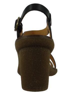 El Naturalista N5157 Trivia Damen Leder Sandale Sandalette Leather Vaquetilla Fantasia Black F Schwarz – Bild 3