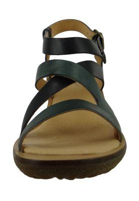 El Naturalista N5157 Trivia Damen Leder Sandale Sandalette Leather Vaquetilla Fantasia Black F Schwarz – Bild 5